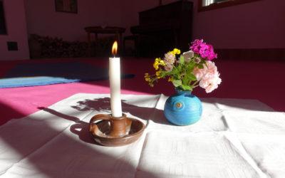 Yoga-mindfulness Ekerö kort kurs