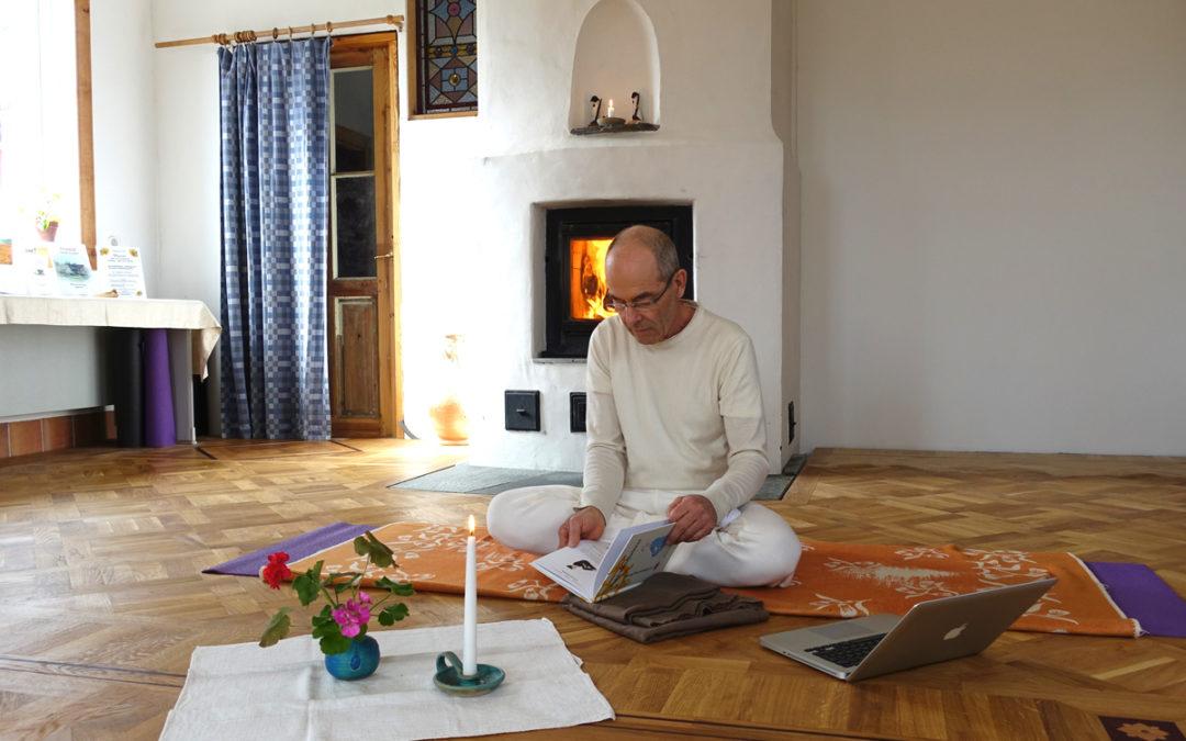 Yoga-mindfulness online live från Östanlid