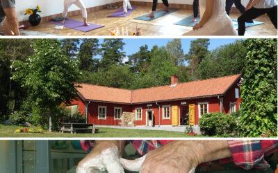 Keramikkurser och Yoga-mindfulness i sommar